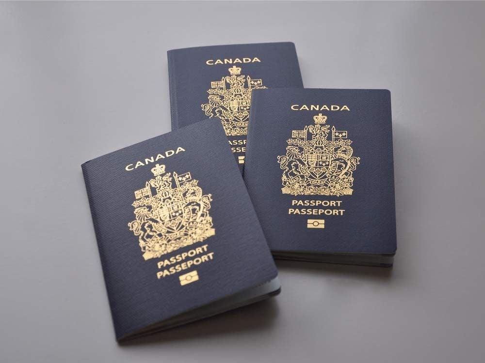 Canadian passports