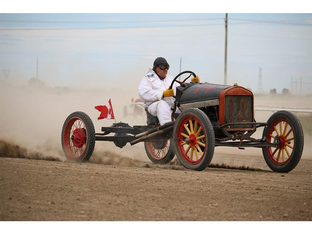 Ford Model T racing competition