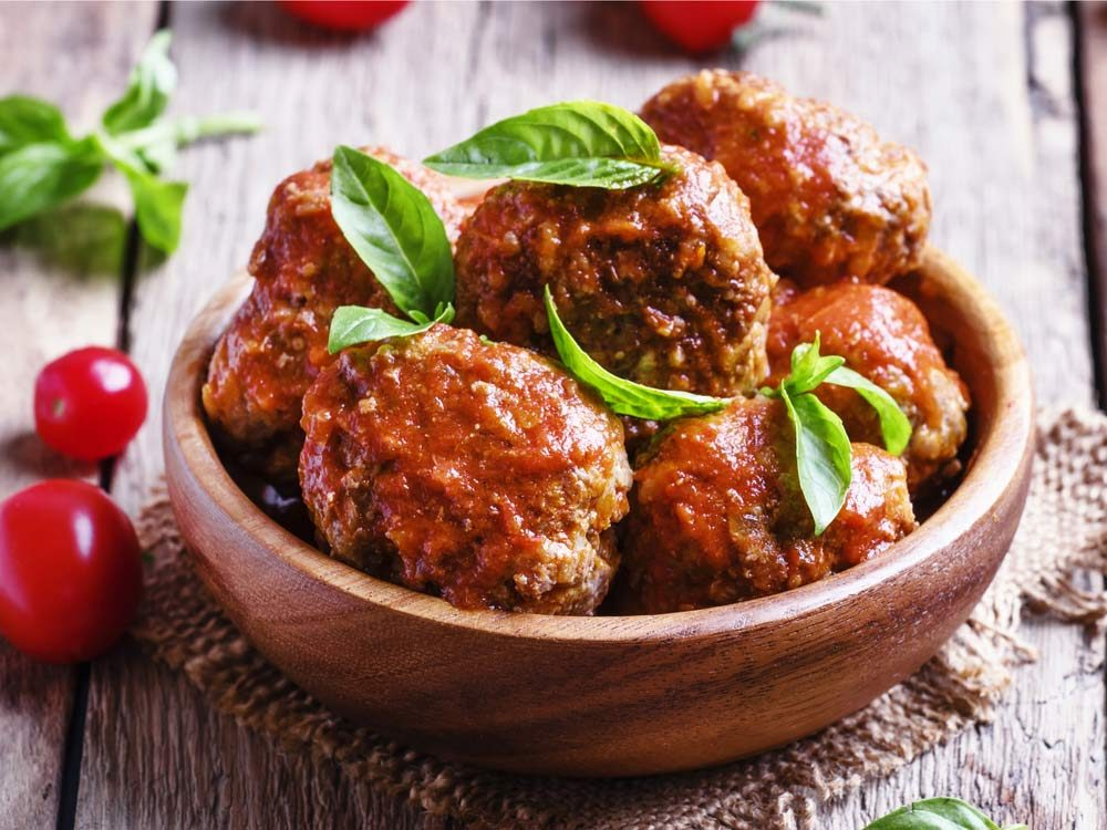 Donatella Arpaia reveals how to make the perfect meatballs