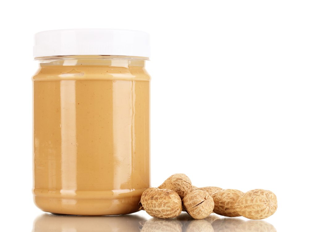 Reduced fat peanut butter is a food you should never buy again