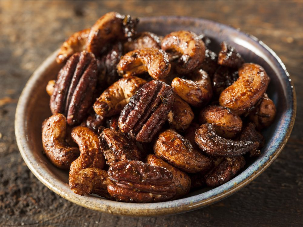 Nuts are a no-guilt healthy snack