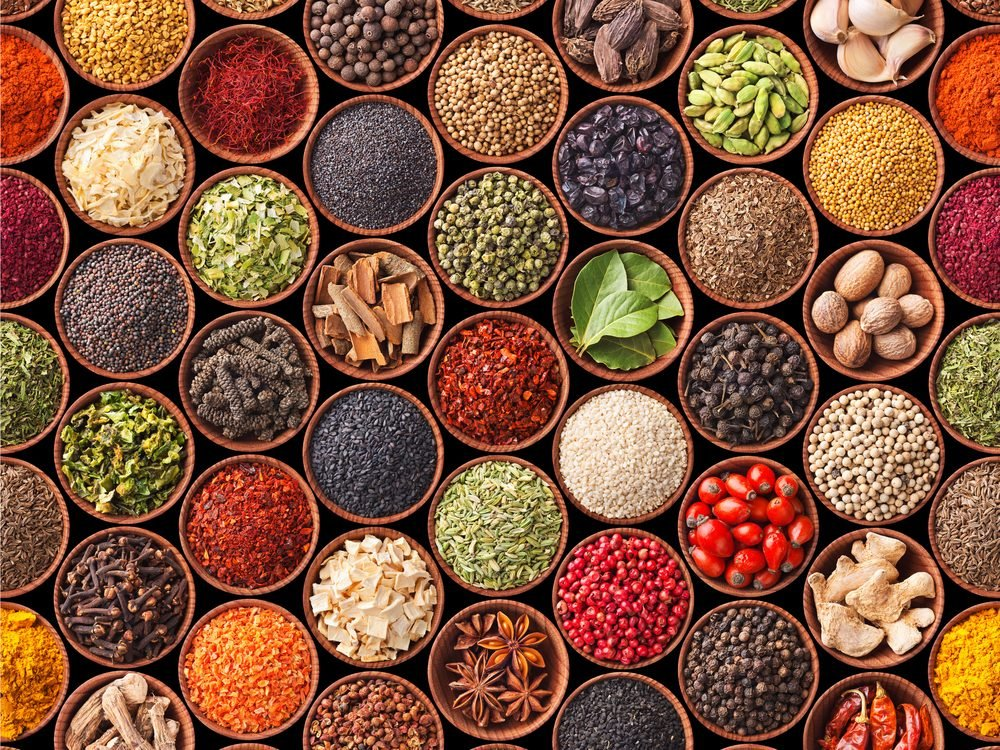Spices and herbs help you avoid clogged arteries