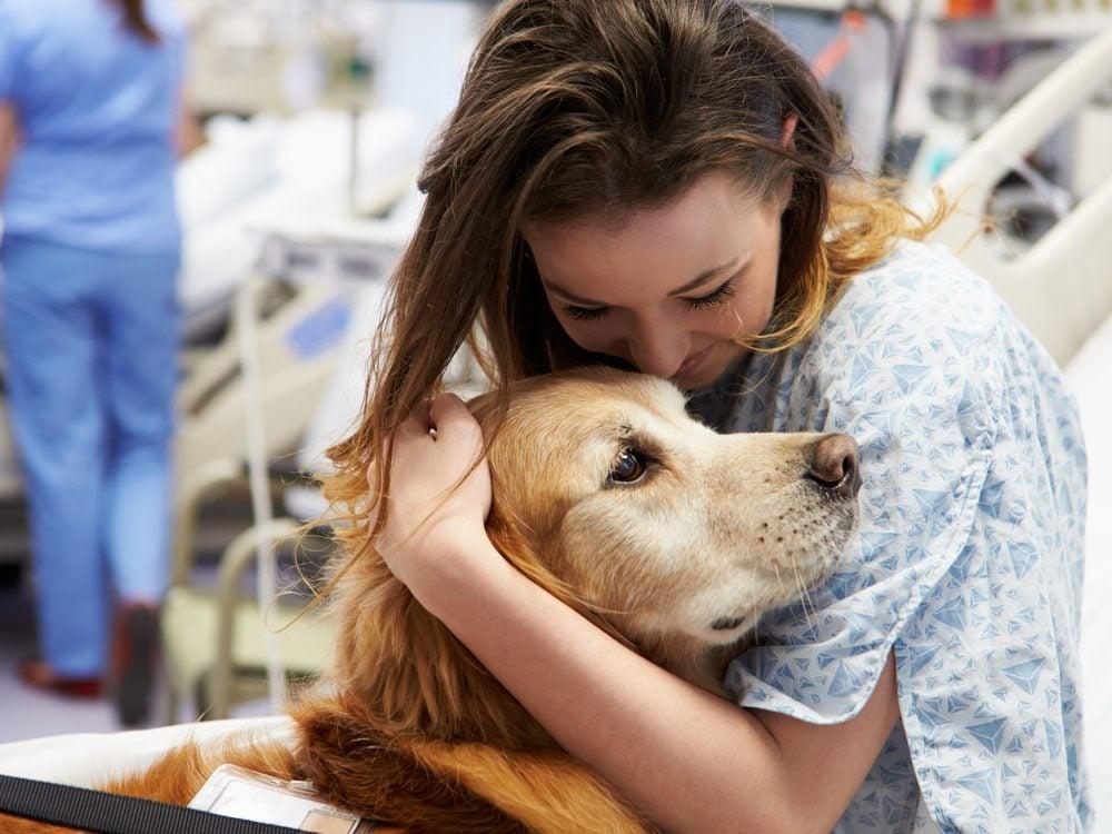 Pet visits are a hospital secret you should know