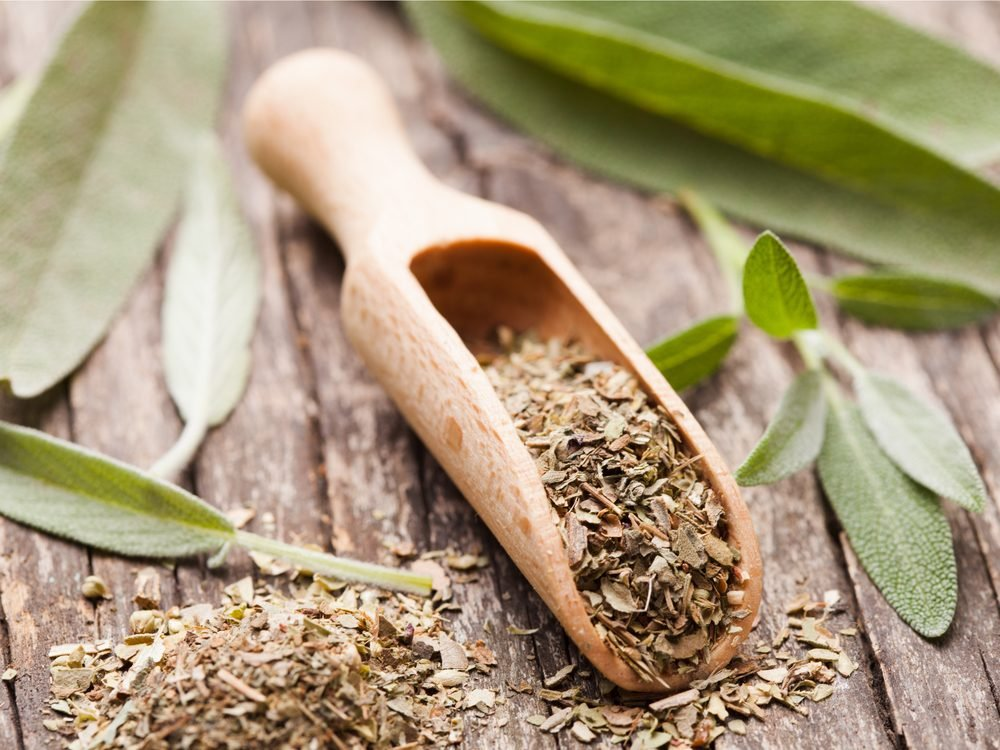 Sage is a natural sore throat remedy.