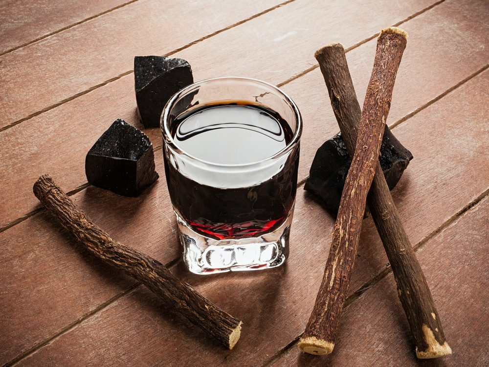Licorice water is a natural sore throat remedy.