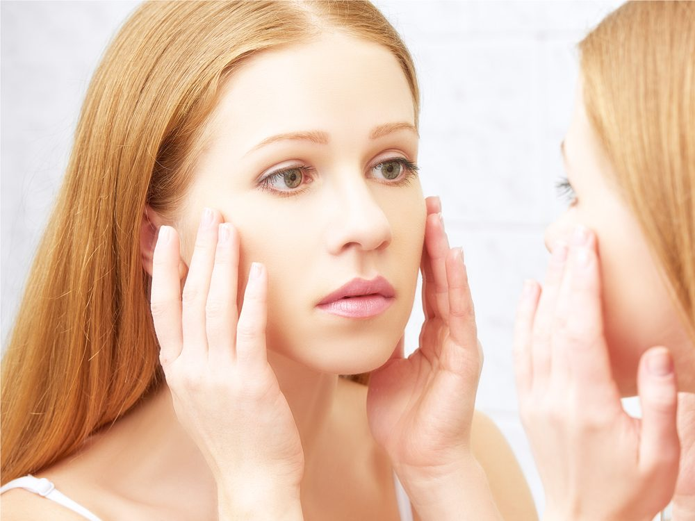 Discoloured complexion could be a sign of disease