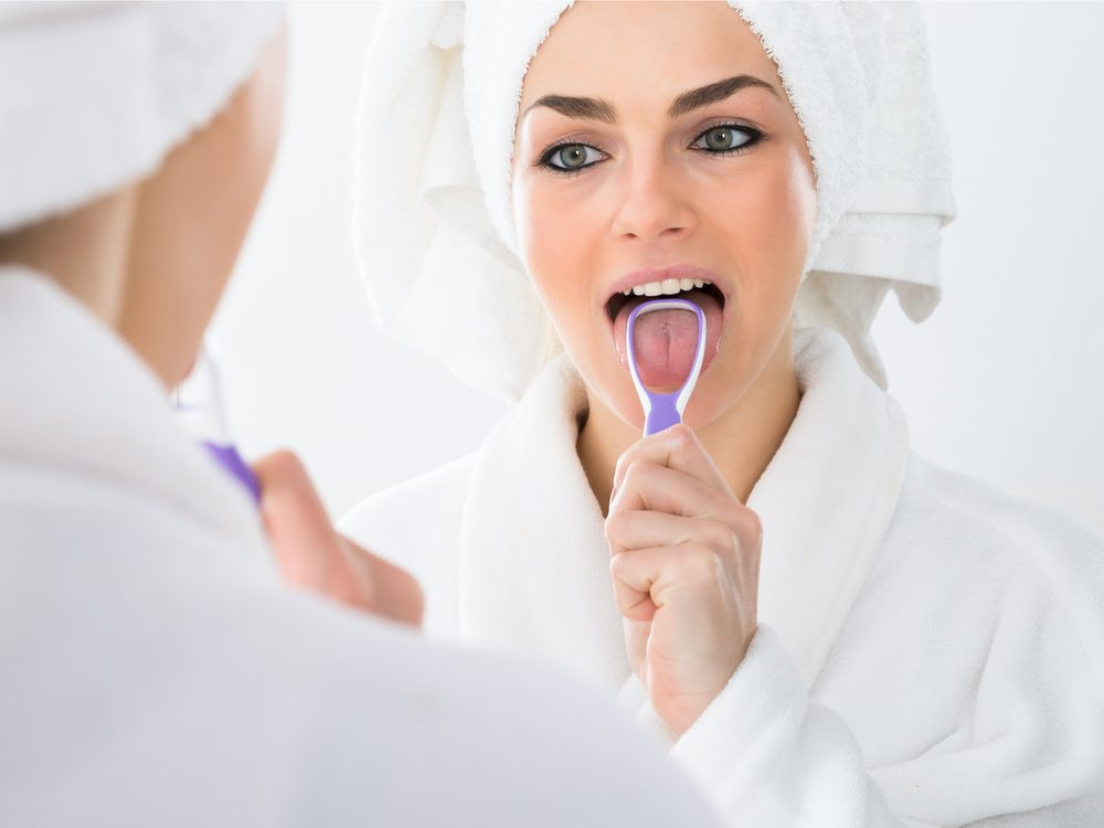 Black or brown fuzz on your tongue reveals something about your health
