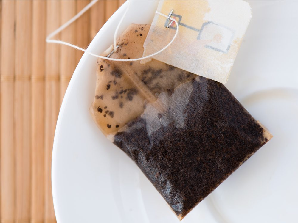 A tea bag is a natural canker sore home remedy