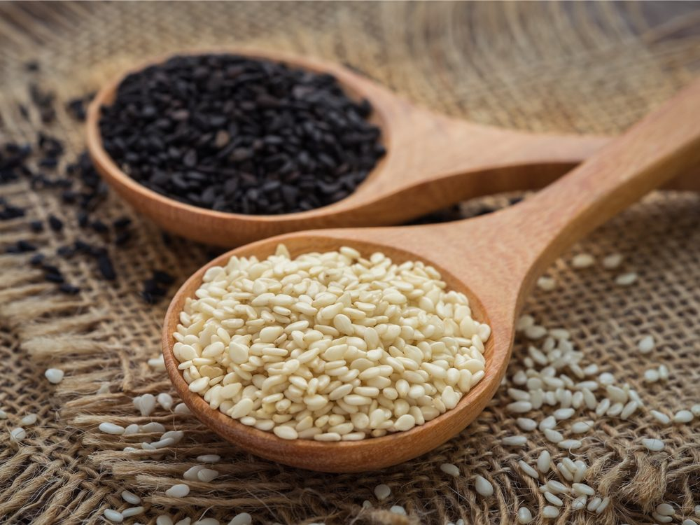 Eating sesame seeds is a surprising home remedy for constipation.