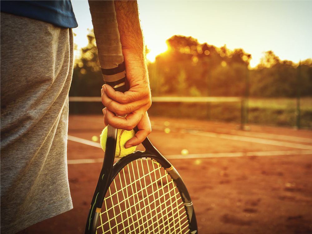 One of the best ways to quit smoking is to visualize playing tennis