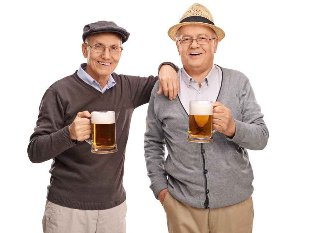 Getting older could be the reason you get drunk so quickly