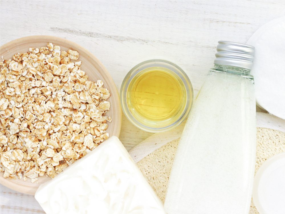 Oatmeal baths can help soothe psoriasis and eczema