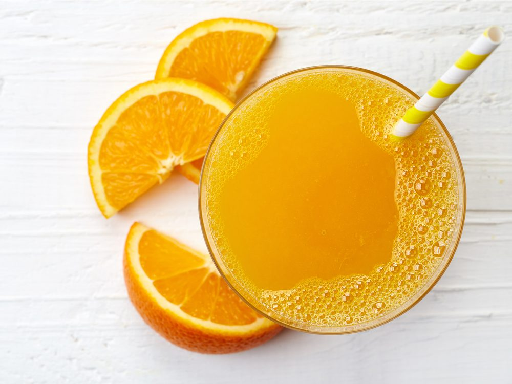 Fruit juice is not a good drink choice for diabetics