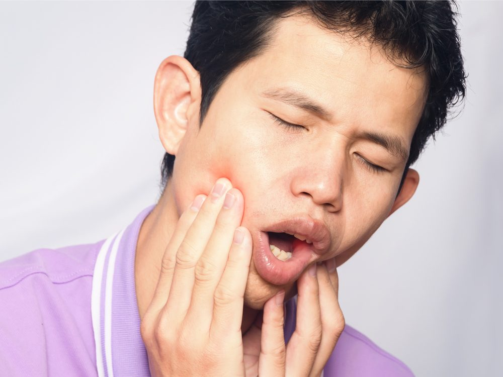Mouth sores are a sign of cancer that many men ignore