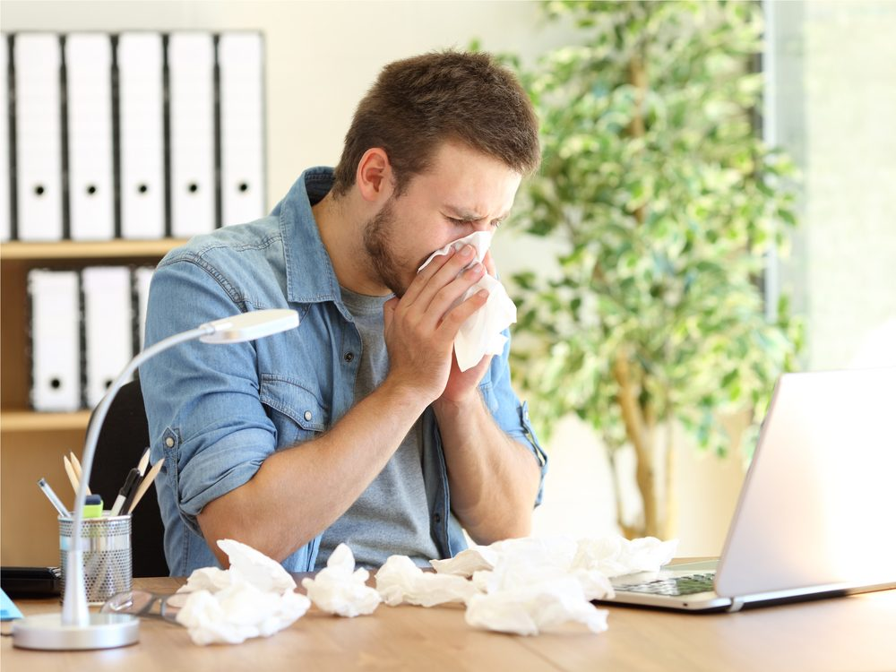 There are natural allergy remedies that provide relief