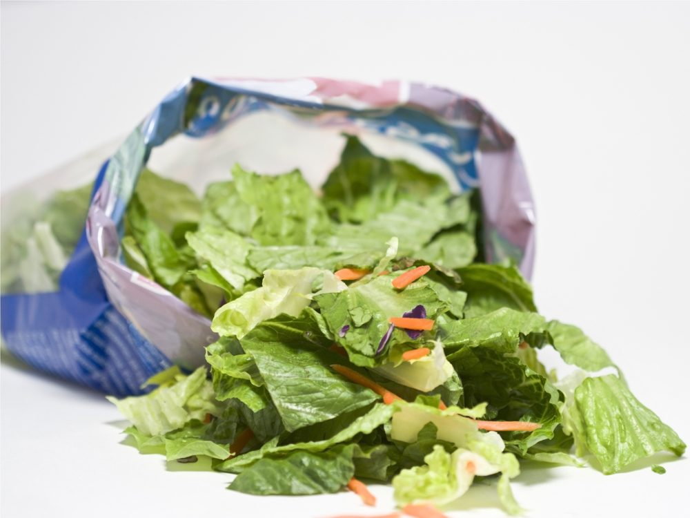 Salad kits are something you should never buy again