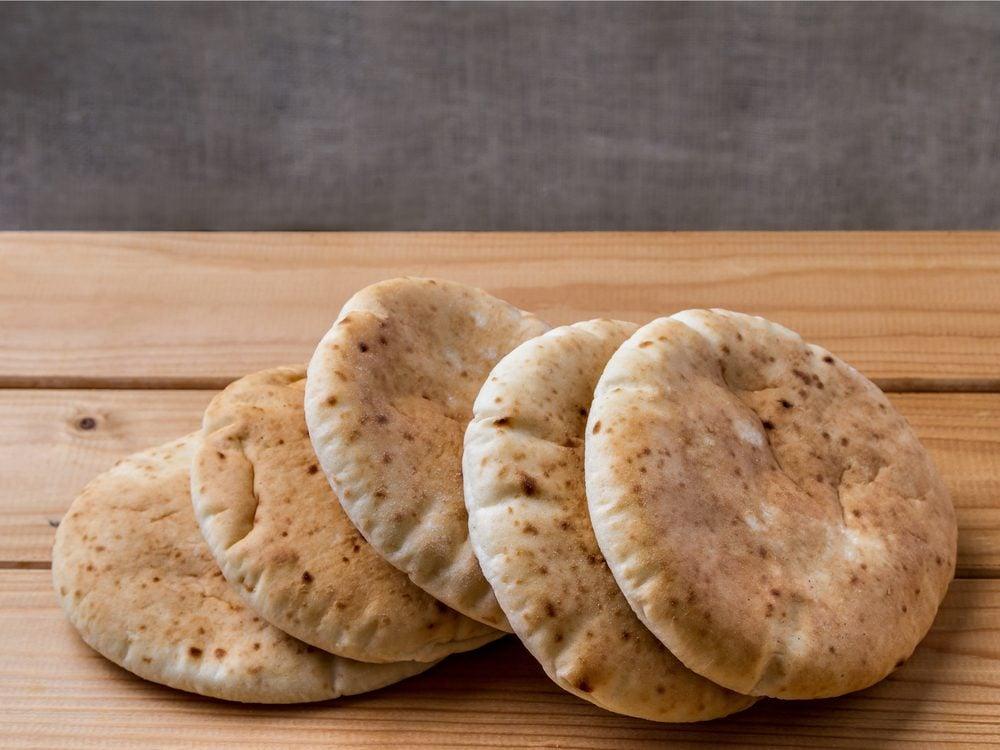 Pita tapas are a no-guilt healthy snack