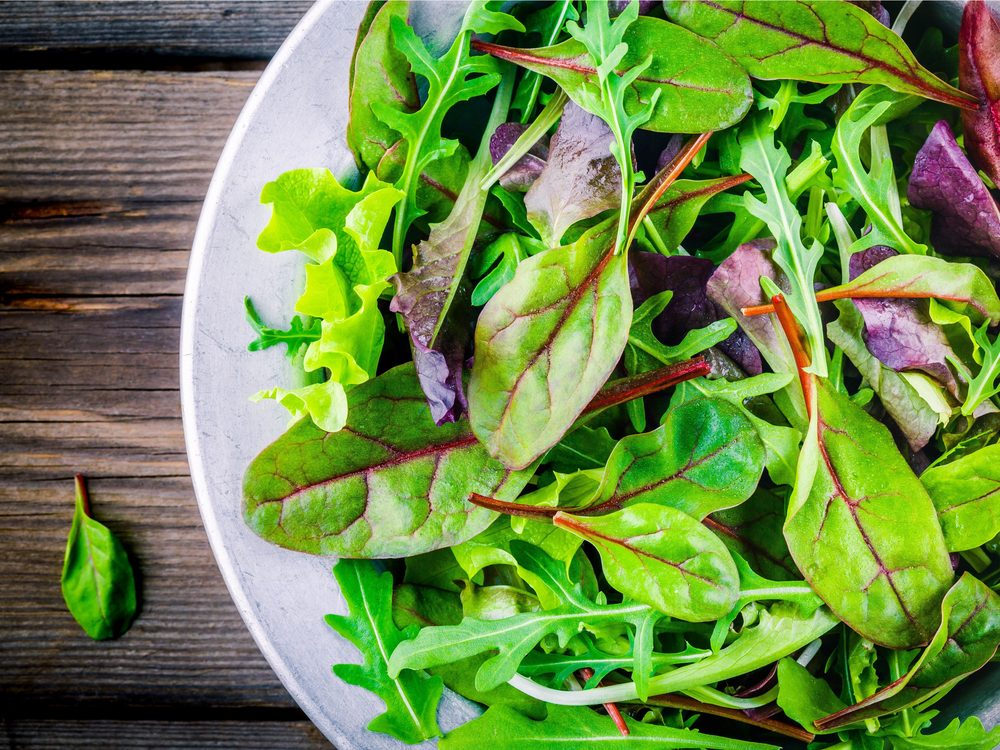 Mixing up your green is a surprising salad trick that can help you lose weight
