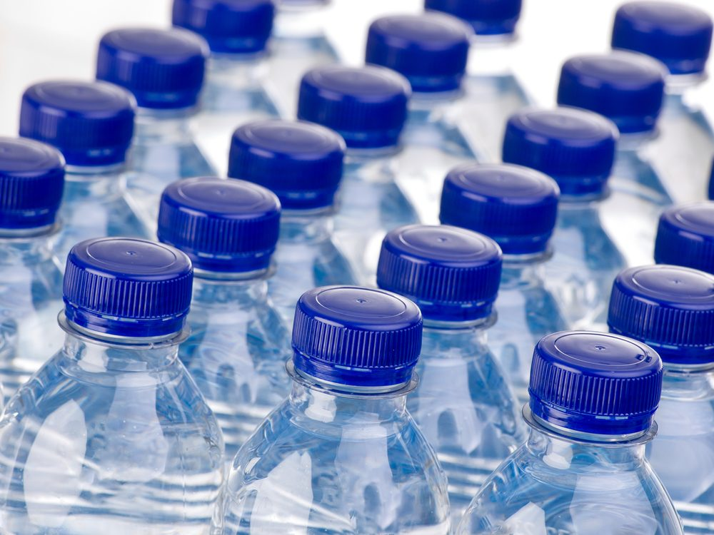 Bottled water is something you should never buy again