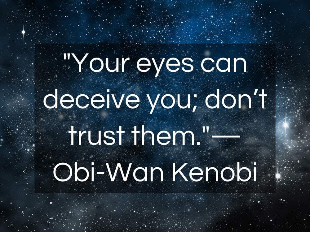 Star Wars quotes from Obi-Wan Kenobi