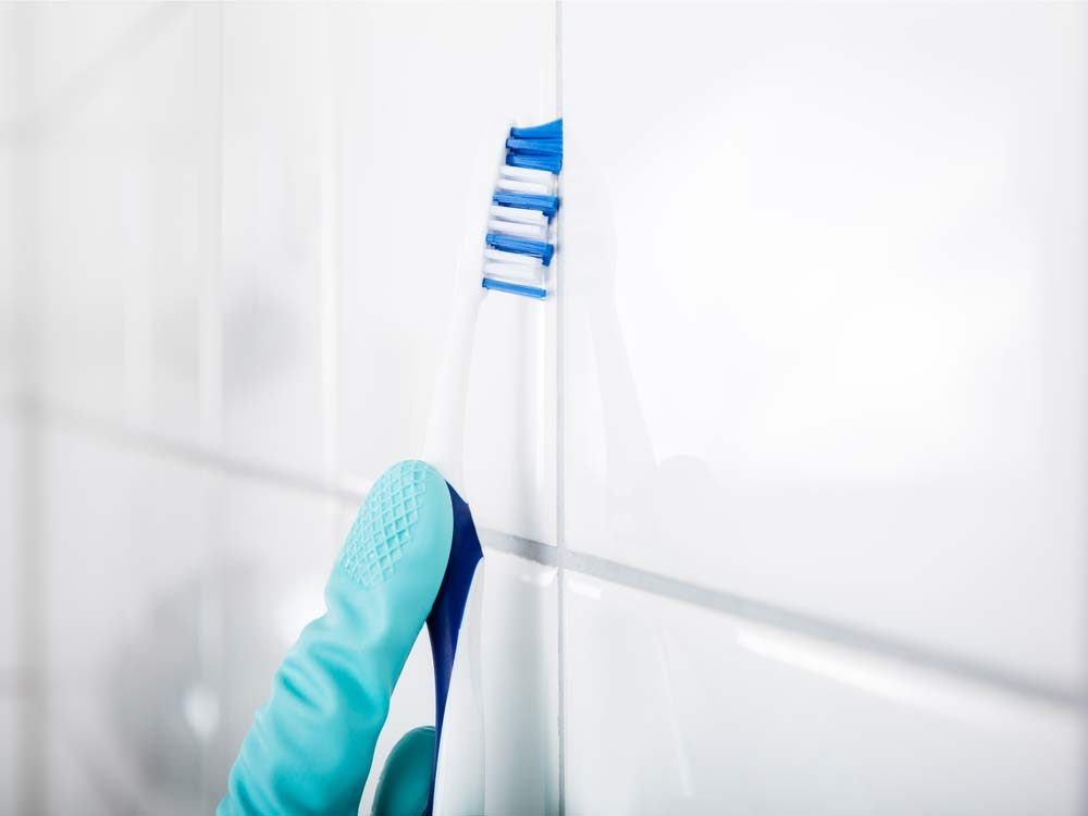 Toothbrush hacks for cleaning