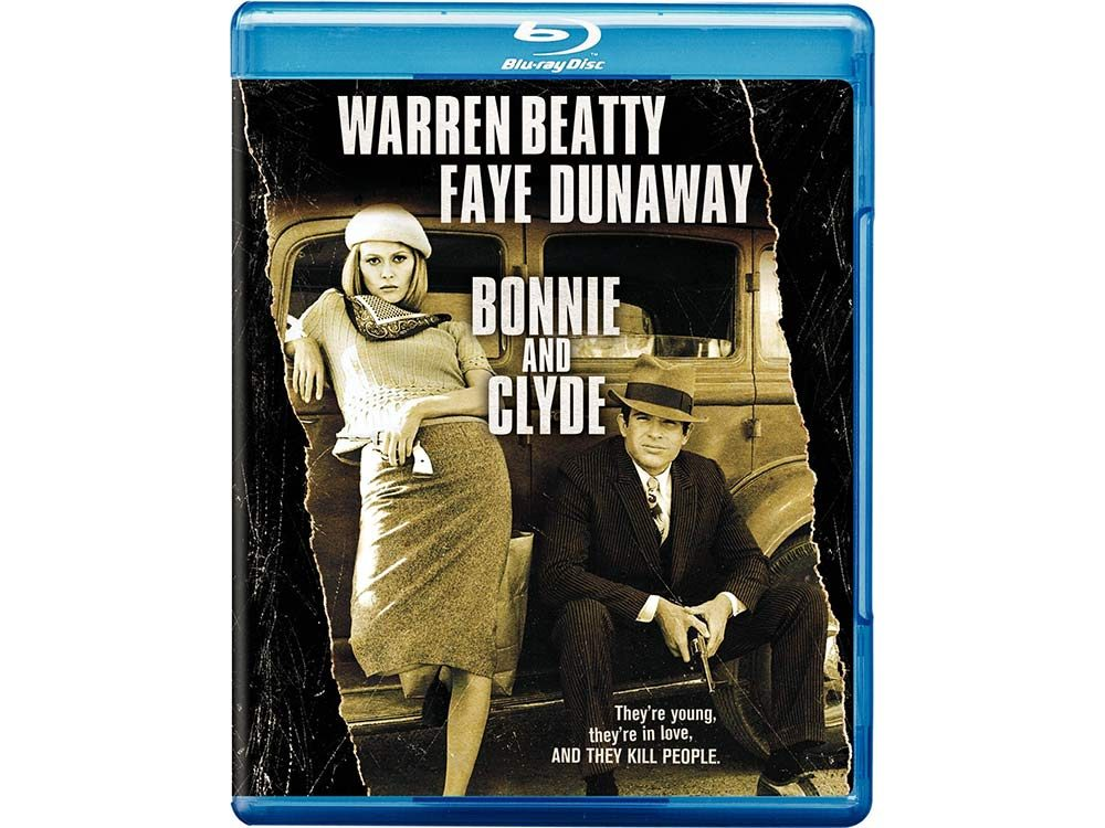 Bonnie and Clyde blu-ray cover