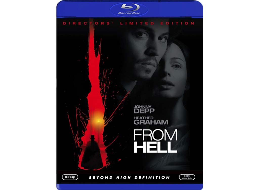 From Hell blu-ray cover