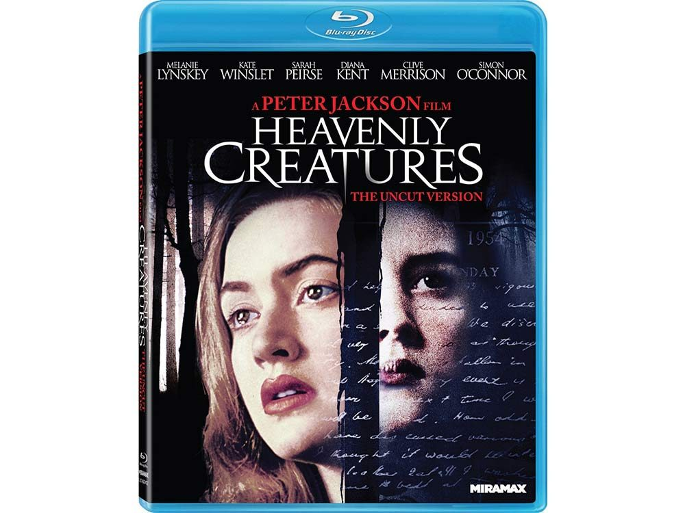 Heavenly Creatures blu-ray cover