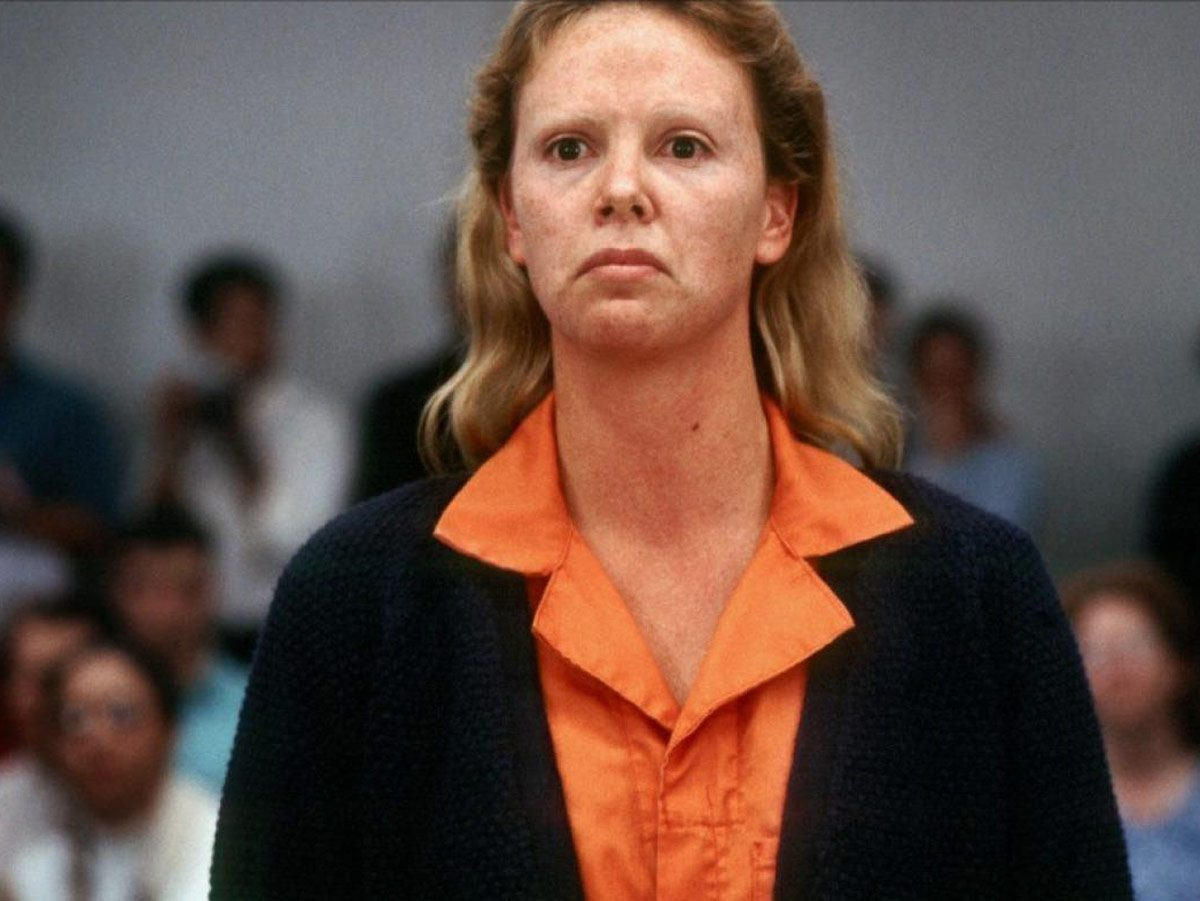 True crime movies - Charlize Theron in Monster