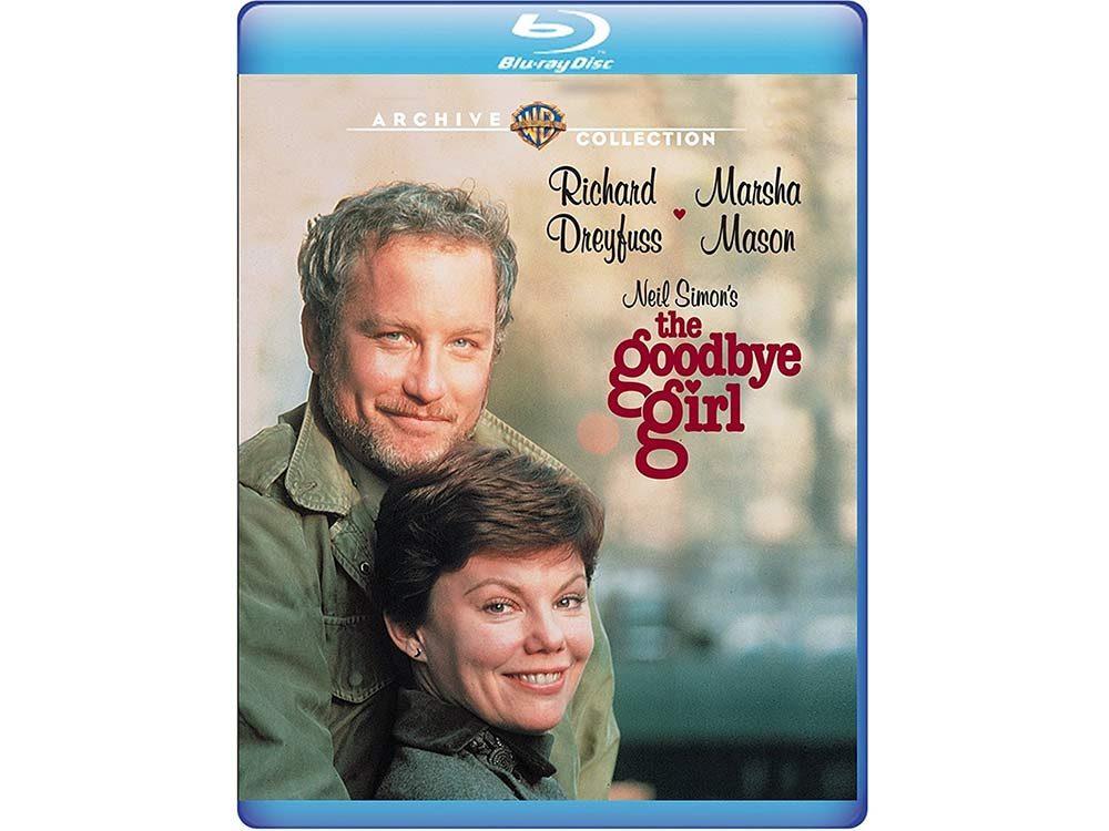 The Goodbye Girl blu-ray cover