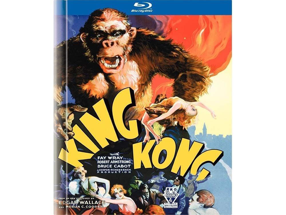 King Kong blu-ray cover