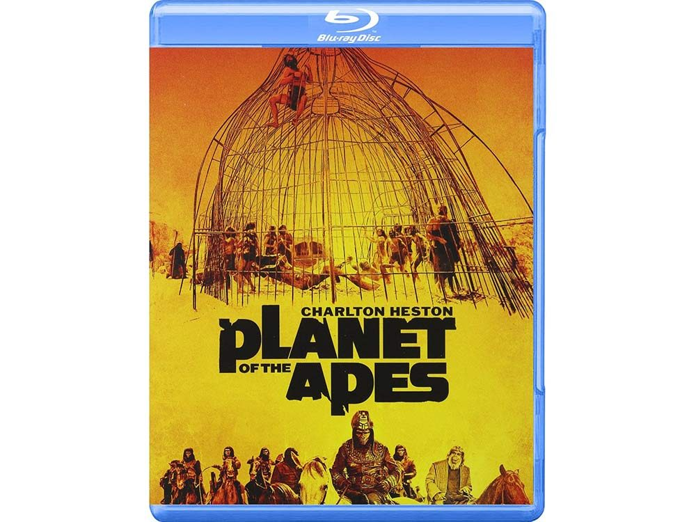Planet of the Apes blu-ray cover