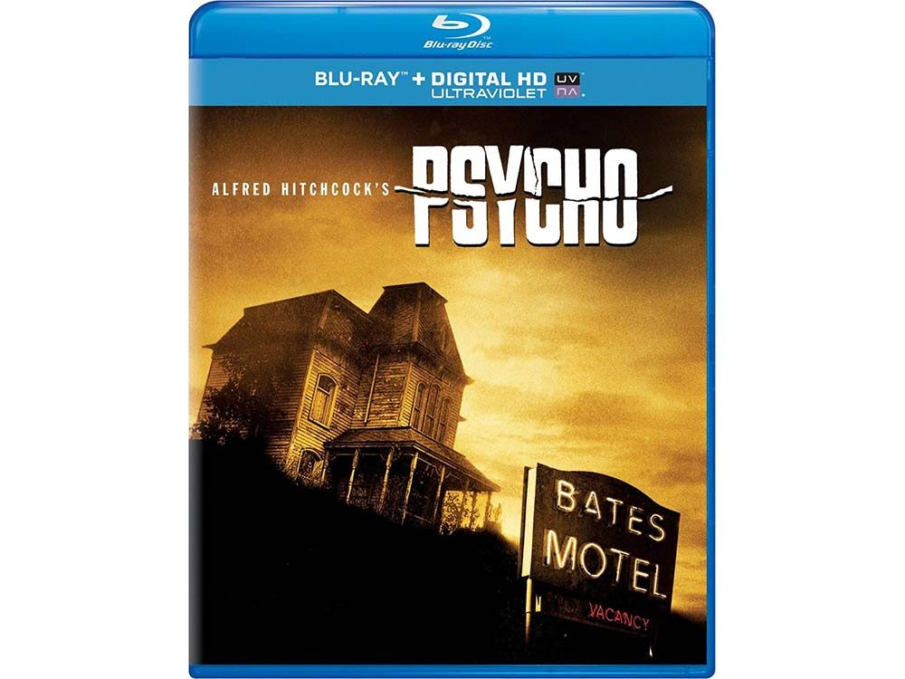 Psycho blu-ray cover
