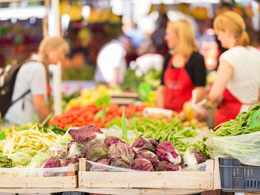 Banff farmers' market