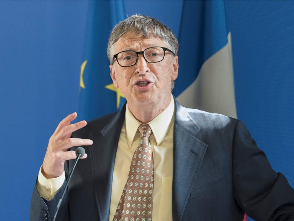 Bill Gates is one of the world's most famous billionaires