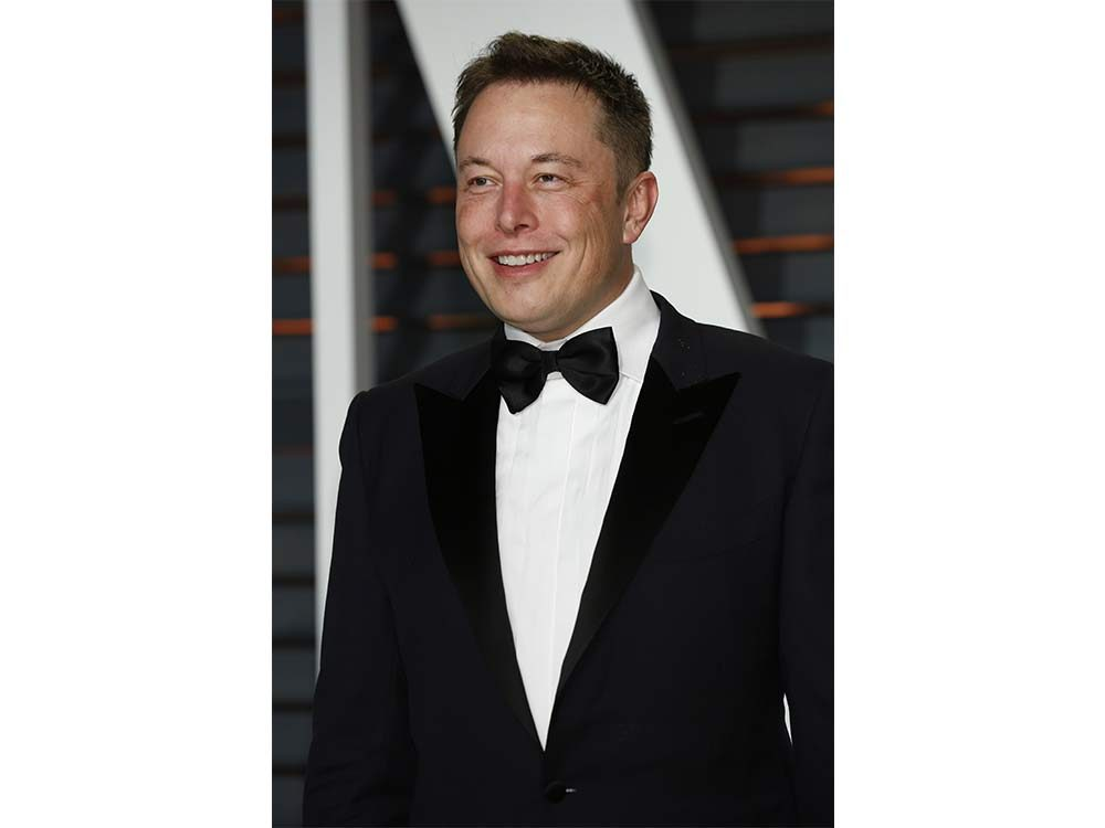 Businessman Elon Musk