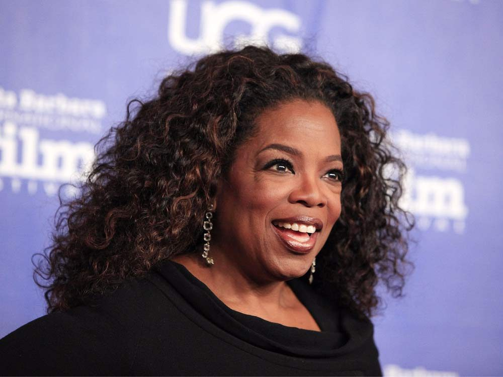 Business magnate Oprah Winfrey