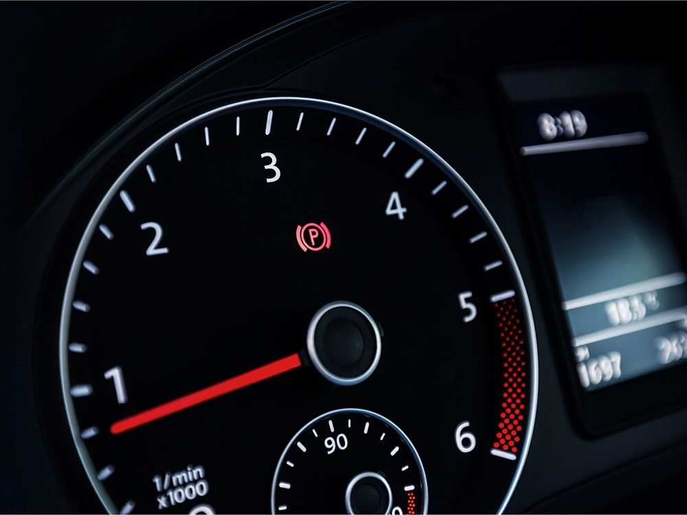 Check your car's RPM gauge