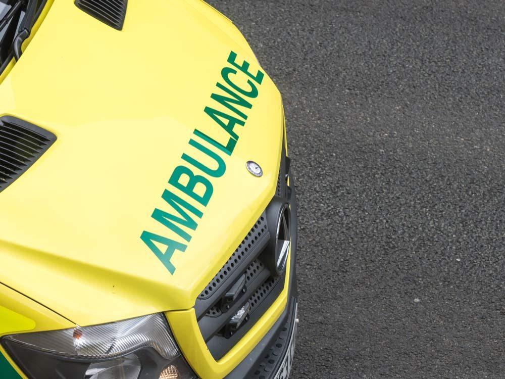 Ambulance from London, England
