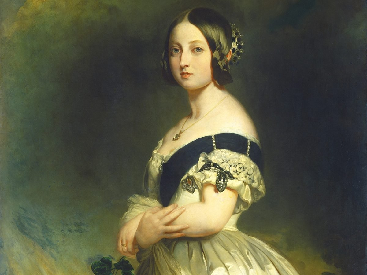 Facts about Queen Victoria - young Victoria portrait