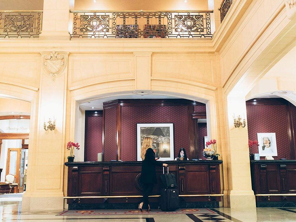 Fort Garry Hotel lobby, Winnipeg