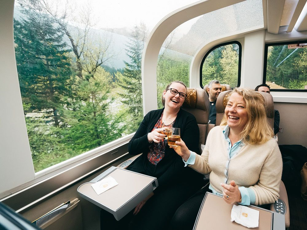 Luxury hotels on Rocky Mountaineer routes