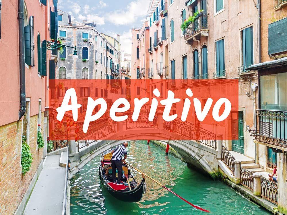 Aperitivo (Pre-dinner drink)
