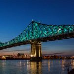 What's On: Jacques Cartier Bridge Lights Up for Montreal's 375th Anniversary