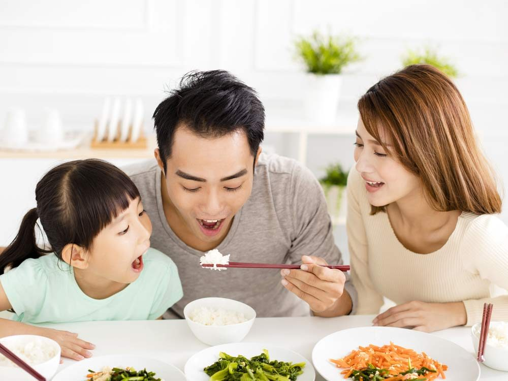 Celebrate eating—along with flexible restraint