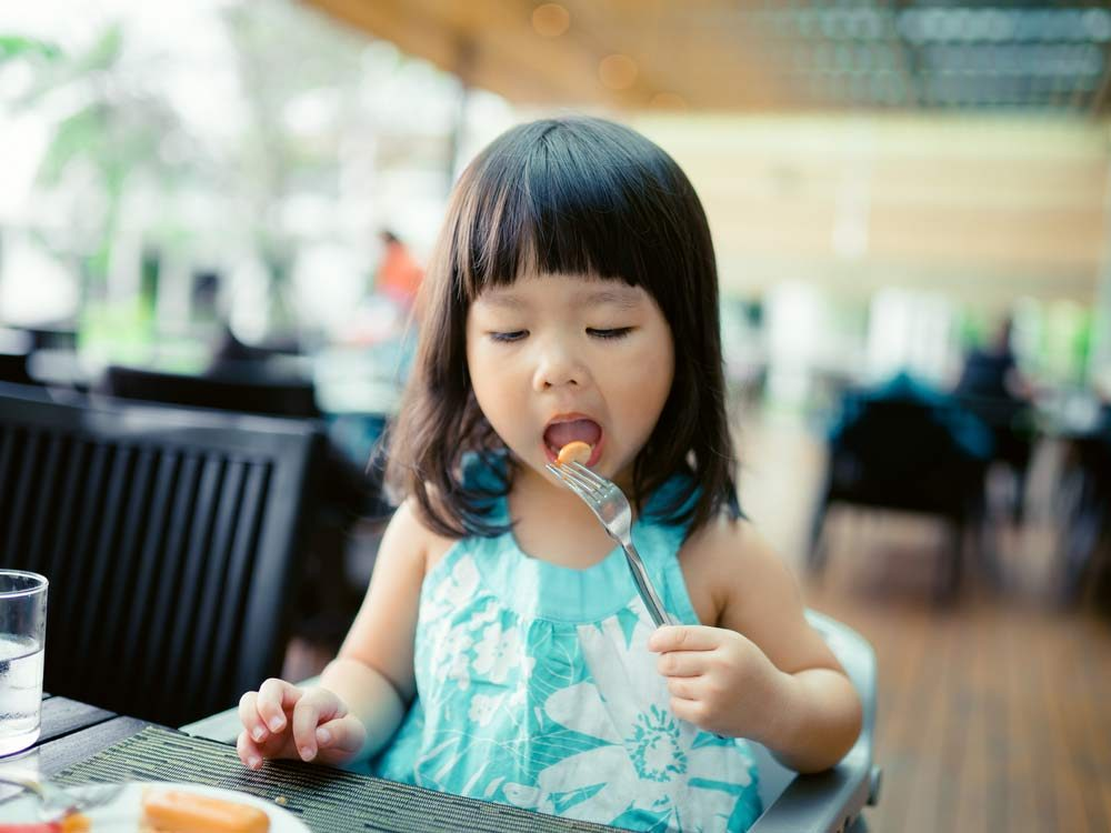 Encourage your child to explore new foods