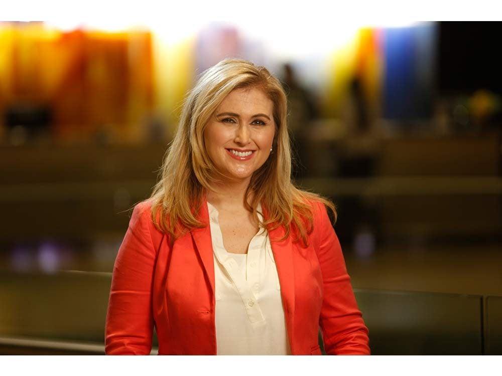 Television personality Jennifer Valentyne