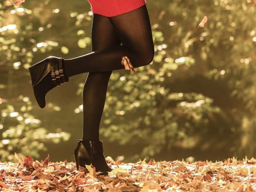Go beyond black tights