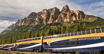 Rocky Mountaineer mountain rides
