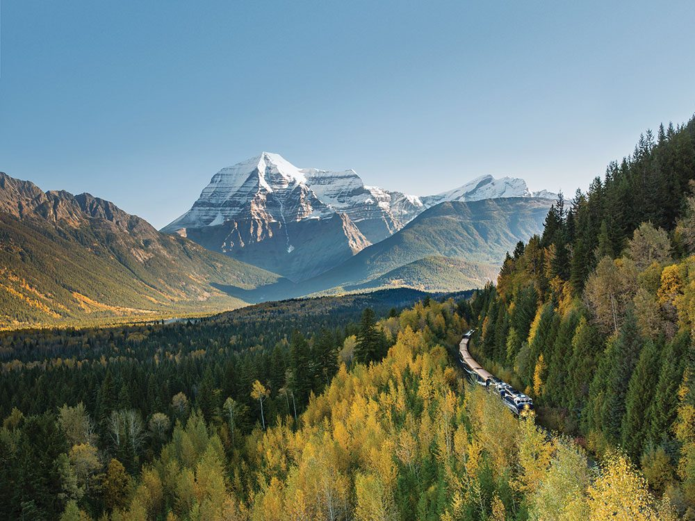 Rocky Mountaineer Canadian rockies